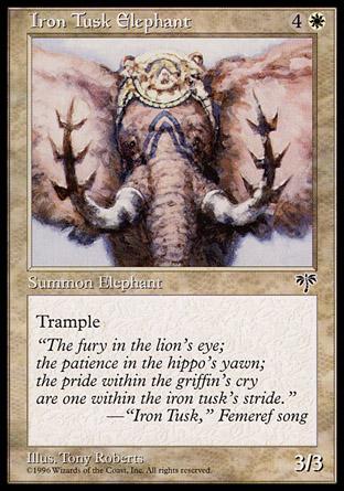Iron Tusk Elephant   Mirage