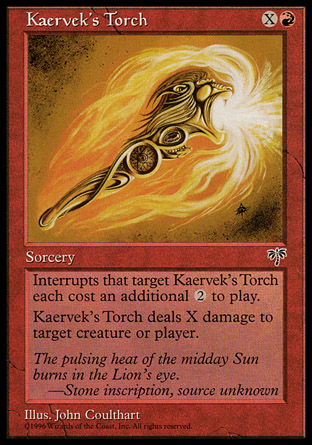 Kaervek's Torch | Mirage