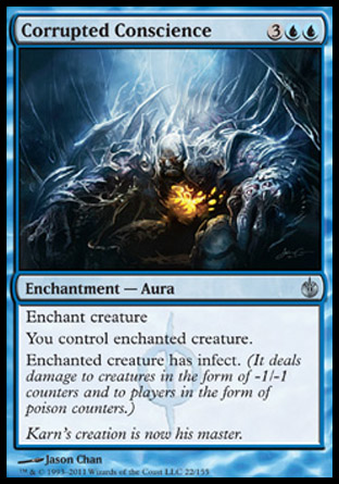 Corrupted Conscience | Mirrodin Besieged
