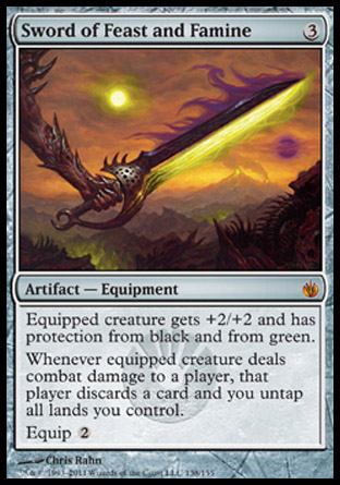 Sword of Feast and Famine | Mirrodin Besieged