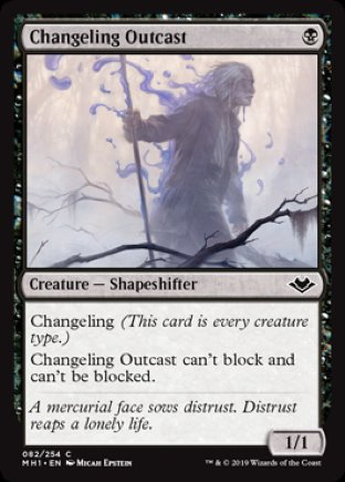Changeling Outcast | Modern Horizons