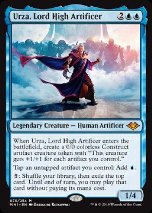 Urza, Lord High Artificer | Modern Horizons