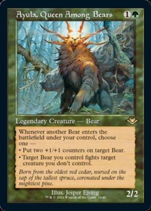 Ayula, Queen Among Bears | Modern Horizons 1 Timeshifts