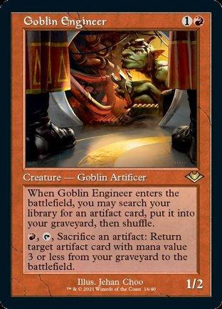 Goblin Engineer | Modern Horizons 1 Timeshifts