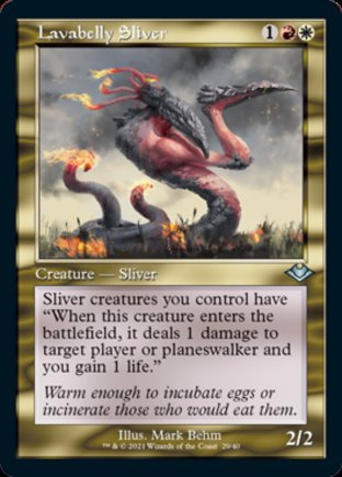 Lavabelly Sliver   Modern Horizons 1 Timeshifts