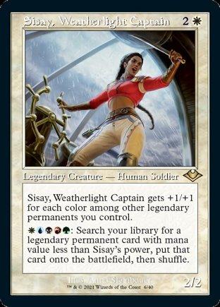 Sisay, Weatherlight Captain | Modern Horizons 1 Timeshifts