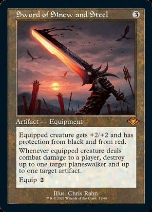 Sword of Sinew and Steel | Modern Horizons 1 Timeshifts