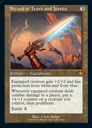Sword of Truth and Justice   Modern Horizons 1 Timeshifts