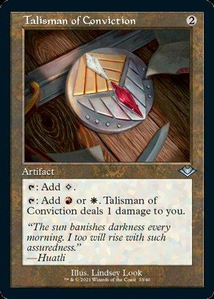 Talisman of Conviction | Modern Horizons 1 Timeshifts