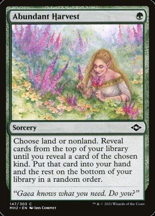 Abundant Harvest   Modern Horizons 2