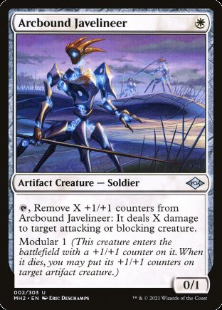 Arcbound Javelineer   Modern Horizons 2