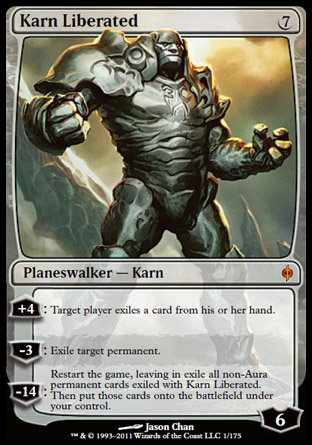 Karn Liberated | New Phyrexia