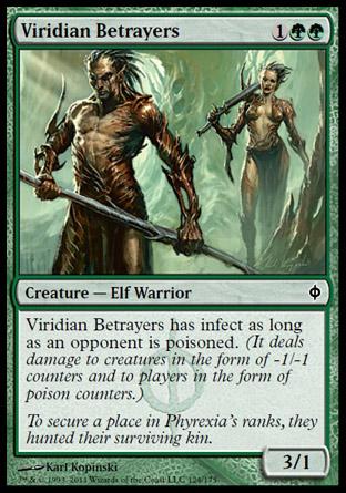 Viridian Betrayers | New Phyrexia
