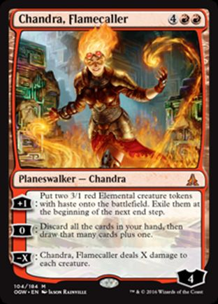 Chandra, Flamecaller | Oath of the Gatewatch