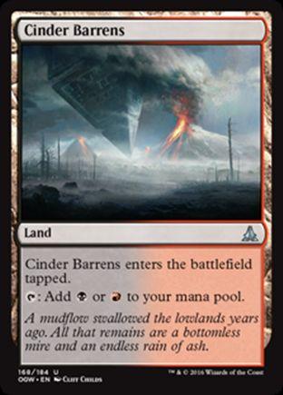Cinder Barrens | Oath of the Gatewatch