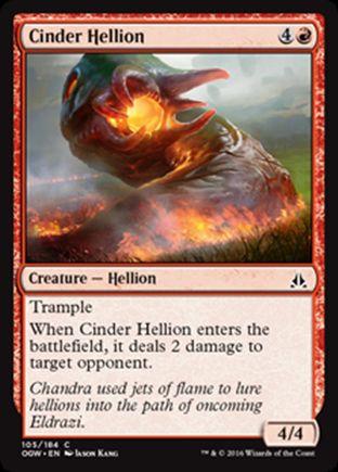 Cinder Hellion   Oath of the Gatewatch