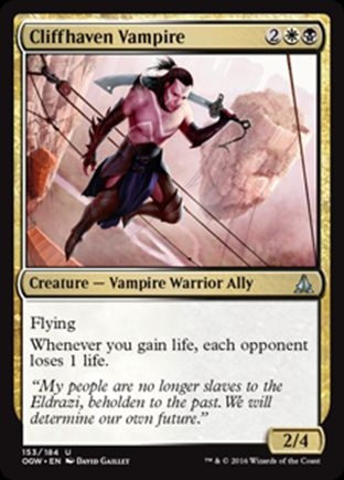 Cliffhaven Vampire   Oath of the Gatewatch