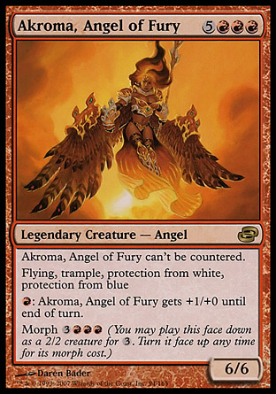 Akroma, Angel of Fury   Planar Chaos