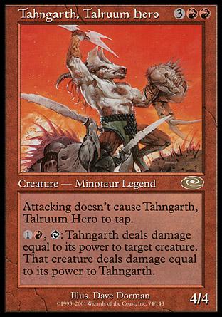 Tahngarth, Talruum Hero | Planeshift
