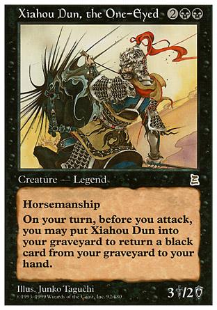 Xiahou Dun, the One-Eyed   Portal III