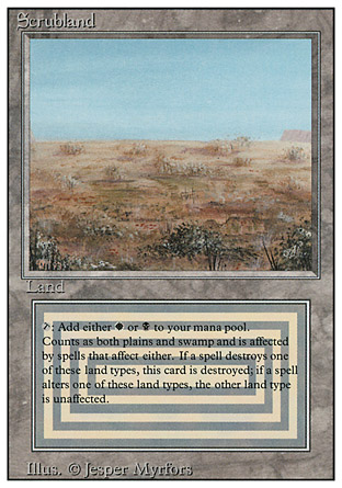 Scrubland | Revised