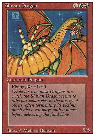 Shivan Dragon | Revised
