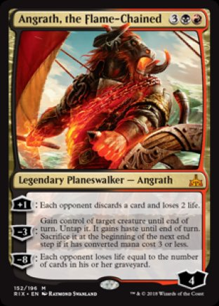 Angrath, the Flame-Chained | Rivals of Ixalan
