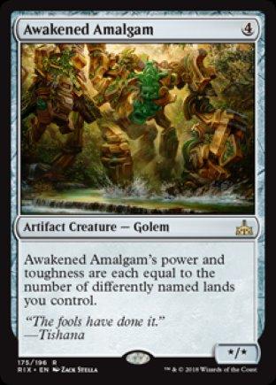 Awakened Amalgam | Rivals of Ixalan