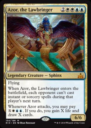 Azor, the Lawbringer   Rivals of Ixalan