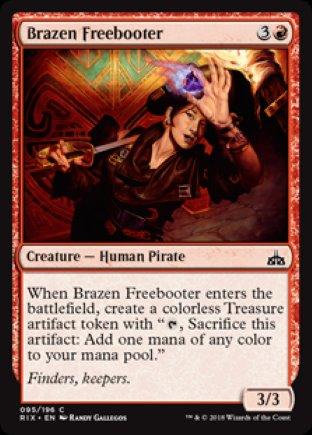 Brazen Freebooter | Rivals of Ixalan