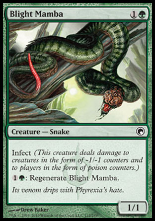 Blight Mamba | Scars of Mirrodin