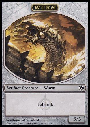 Wurm token | Scars of Mirrodin