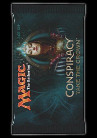 -CN2- Conspiracy Take the Crown Booster   Sealed product