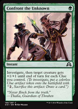 Confront the Unknown   Shadows over Innistrad