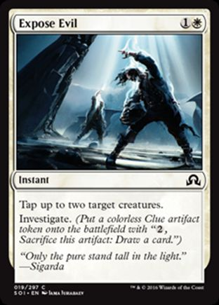 Expose Evil   Shadows over Innistrad