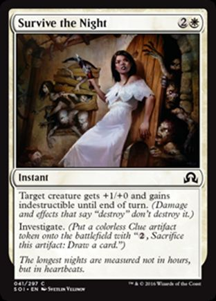 Survive the Night   Shadows over Innistrad