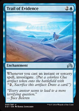 Trail of Evidence   Shadows over Innistrad