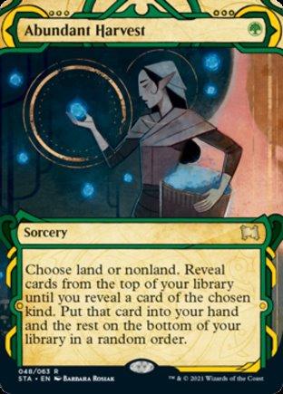 Abundant Harvest   Strixhaven Mystical Archive