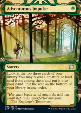 Adventurous Impulse | Strixhaven Mystical Archive