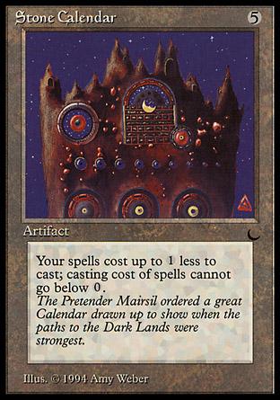 Stone Calendar | The Dark