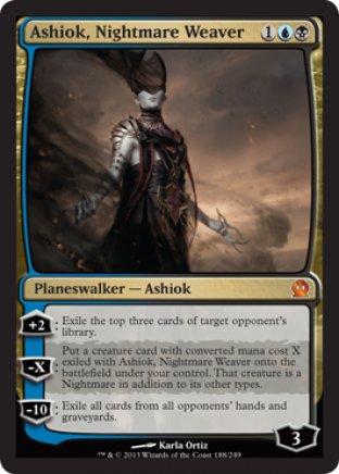Ashiok, Nightmare Weaver   Theros