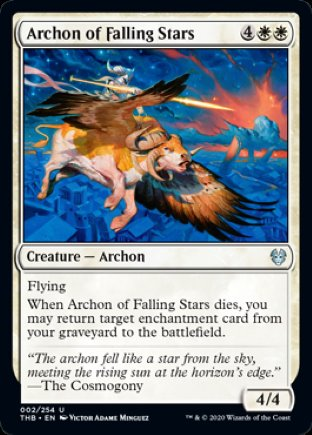 Archon of Falling Stars | Theros Beyond Death