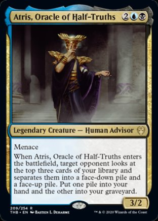 Atris, Oracle of Half-Truths | Theros Beyond Death