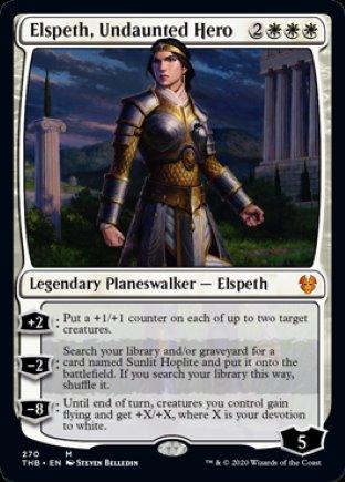 Elspeth, Undaunted Hero | Theros Beyond Death