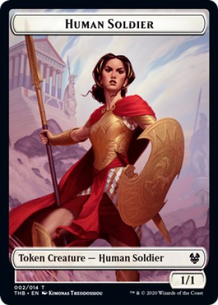 Human Soldier token | Theros Beyond Death