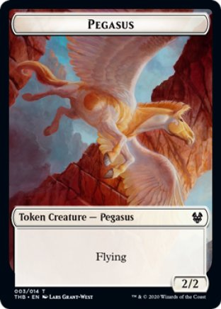 Pegasus token | Theros Beyond Death
