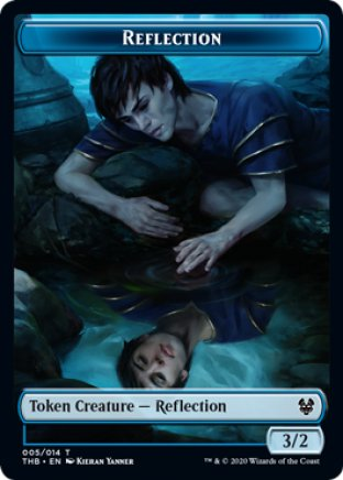 Reflection token | Theros Beyond Death