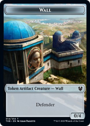Wall token | Theros Beyond Death