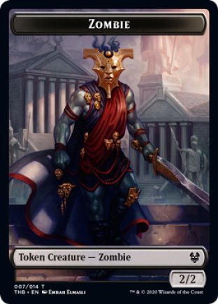 Zombie token | Theros Beyond Death