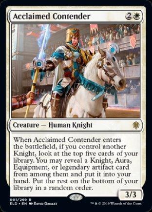 Acclaimed Contender   Throne of Eldraine